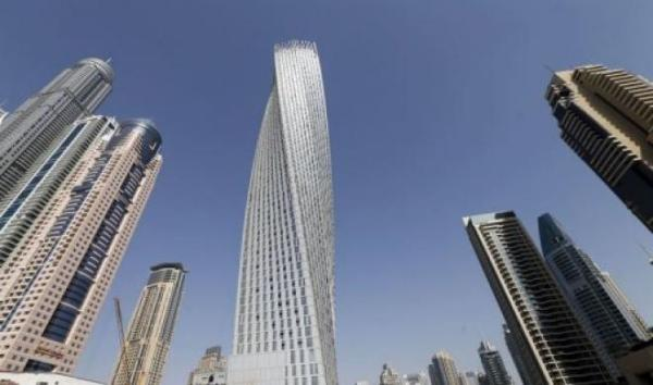 Cayan Tower, tallest twisted tower in the world