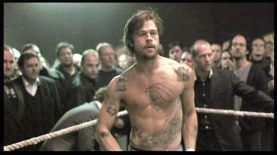 Screw London. Brad Pitt shirtless. Yes.