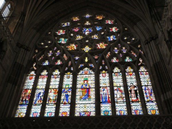 Stained glass, Exeter Cathedral