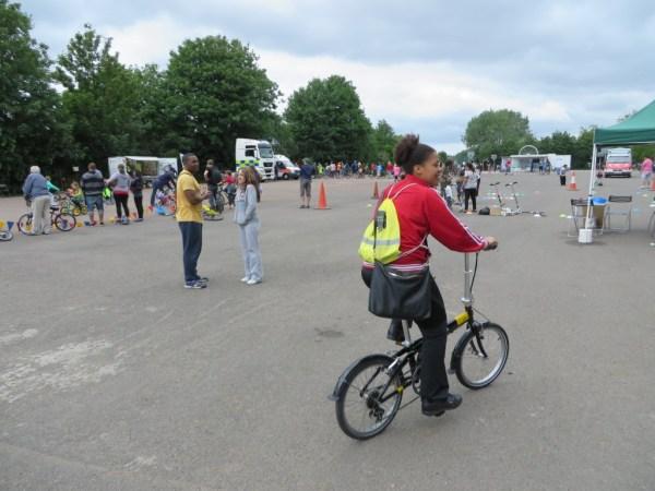 Cycle to Work Scheme, Tern Bike, Finsbury Park Cycling Festival, Rider to Work Scheme