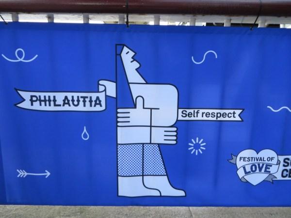 Philautia love, self-respect, Southbank Centre, Festival of Love