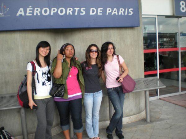 Aeroports de Paris, first time in Paris