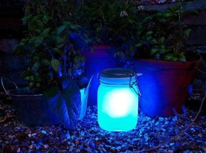 Suck UK Solar powered lamp blue, best christmas gifts for travellers