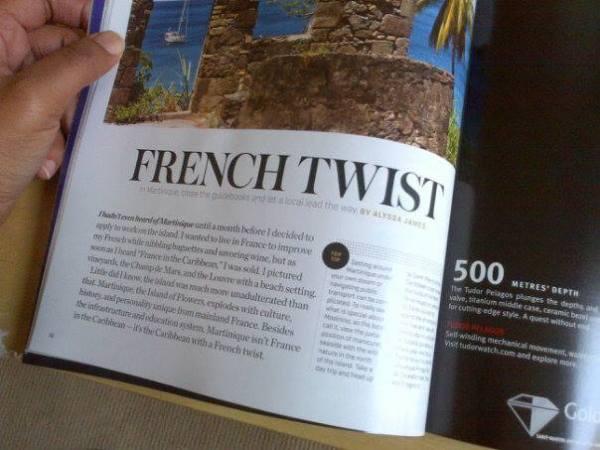 porthole cruise magazine, like a local martinique, alyssa james, alyssa writes