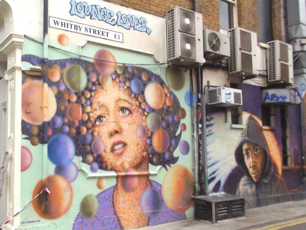 london apps, street art in london, street art london app