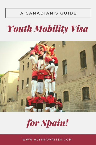 how to get a youth mobility visa for spain, spain youth mobility visa for canadians, canada spain youth mobility