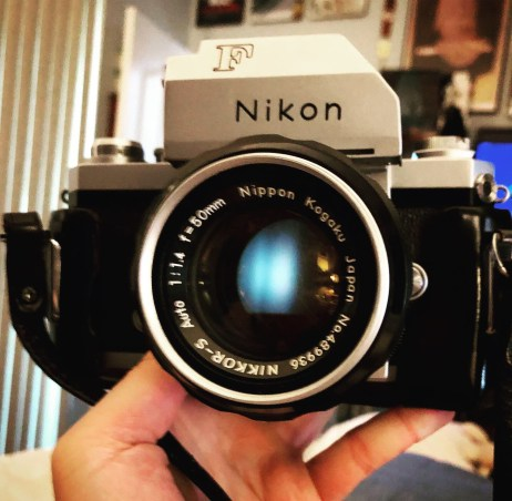 My first Nikon F