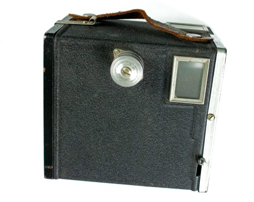 Capitol 120 Box Camera side viewfinder