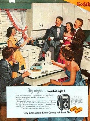 1950 Kodak Duaflex Ad