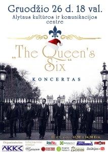 "Ansamblio ""The Queen's Six"" koncertas @ Alytus | Alytaus apskritis | Lietuva"