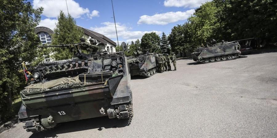 Pirmosios sąjungininkų -  JAV karių - kolonos Lietuvos valstybės sieną planuoja kirsti artimiausią parą