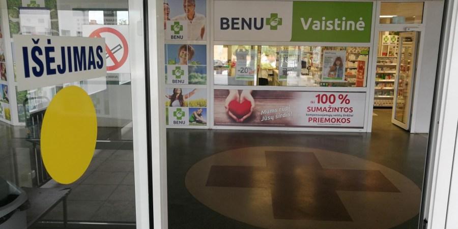 """Alytaus S. Kudirkos ligoninėje įsikūrusi """"Benu"""" vaistinė galėtų veikti visą parą"""
