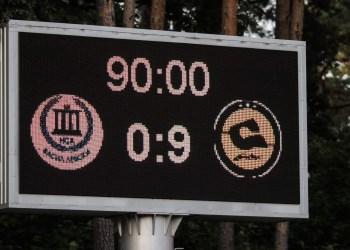 Lietuvos čempionės, Alytuje 9:0 sutriuškinusios bulgares, 7:0 - Farerų salų futbolininkes ir 1:1 sulygusios su suomėmis pateko į UEFA čempionių lygos atkrintamųjų varžybų etapą