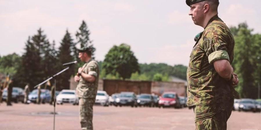 Alytaus ulonams pastaruosius trejus metus vadovavęs pulkininkas leitenantas D. Meilūnas skiriamas į aukštesnes tarnybos pareigas
