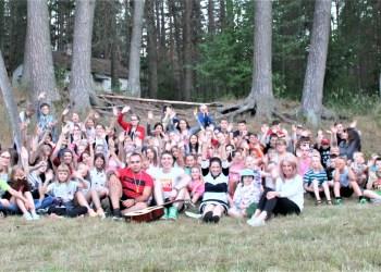 Nemunaičio stovykloje šią vasarą organizuojamos 3 pamainos 7-17 metų vaikams ir jaunimui
