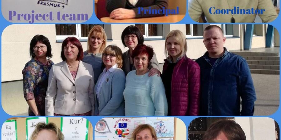 """Piliakalnio progimnazijos bendruomenė nuo rugsėjo mėnesio pradėjo įgyvendinti 2 metų trukmės """"Erasmus+"""" programos mokinių mainų projektą """"Matematikos jėga"""", kurio tikslas skatinti mokinius domėtis matematika, ugdyti loginio mąstymo gebėjimus, pagerinti matematikos  ugdymo pasiekimus"""