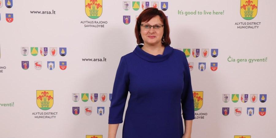 Miroslavo gimnazijos direktorė Sonata Gražulienė