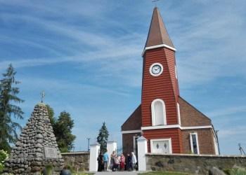 Naujoji Balbieriškio Švč. mergelės Marijos Rožančinės bažnyčia, jai pastatyti 1 mln. eurų skyrė privatus rėmėjas