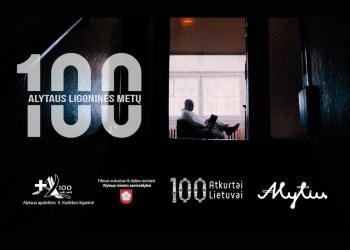 """Filmą """"100 Alytaus ligoninės metų"""" sukūrė Alius Mikelionis ir jo vadovaujama kūrybinė grupė"""