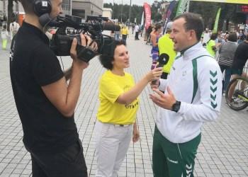 Tarp pusmaratonio Alytuje dalyvių buvo ir LR Ūkio ministras V. Sinkevičius. Pasak jo, bėgti Dzūkijos sostinėje buvo taip gera, kad galėjo nubėgti ne tik 10 km, tačiau ir viso pusmaratonio atstumą