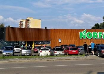 """Į naujosios """"Norfos"""" prie Sveikatos tako statybas ir įrangą investuota apie 2 mln. eurų. Parduotuvė dirbs nuo 7 valandos ryto"""