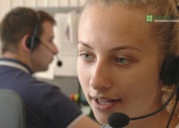 Vieno iš aptarnavimo telefonu rinkos lyderio Lietuvoje centrai per metus aptarnauja apie milijoną skambučių, kas 5 skambutį priima operatorės, dirbančios Alytuje