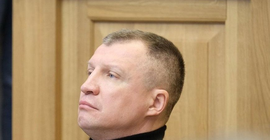 """Frakcijos """"Už Alytų"""" Alytaus miesto savivaldybės taryboje pirmininkas T. Pačėsas"""