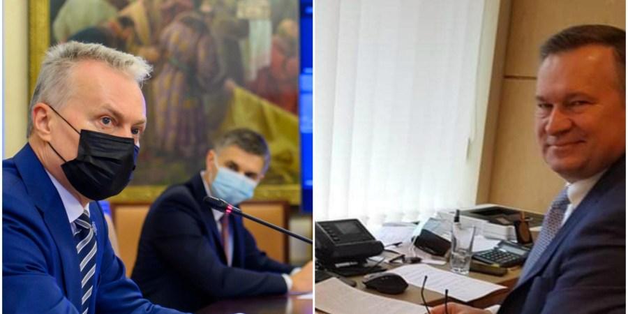 Lietuvos Respublikos prezidentas G. Nausėda nuotoliniame susitikime su Alytaus rajono meru A. Vrubliausku