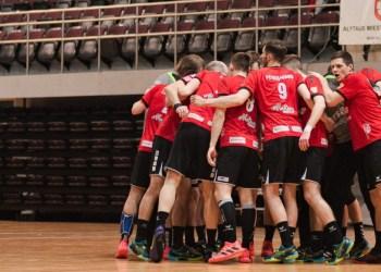 """Alytaus """"Varsos-Stronglaso"""" rankininkai pateko LRL pusfinalį. Domanto Aleksyno nuotr."""