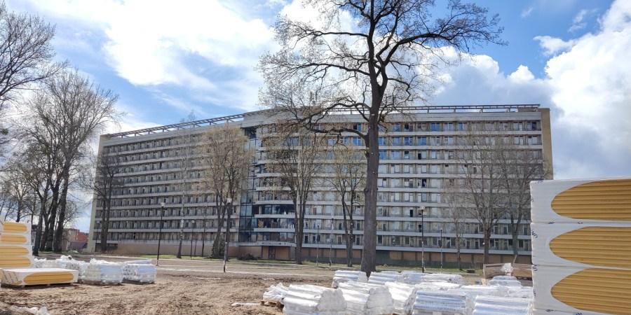 """""""Nemuno"""" sanatorijos pastatas Druskininkuose. Alytausgidas.lt nuotr."""