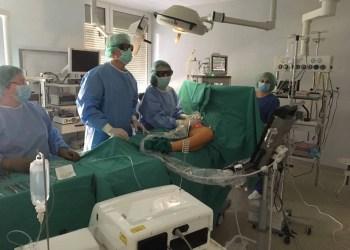 Kelio sąnario operacija Druskininkų ligoninėje
