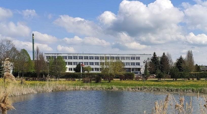 Alytaus profesinio rengiomo centro žemės ūkio skyrius Simne. Alytausgidas.lt nuotr.