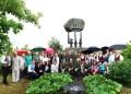 Minėjimas Peršėkininkų kaime, prie čia gyvenusio skulptoriaus Vlado Krušnos sukurto  paminklo
