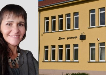 Naujoji Simno gimnazijos direktorė J. Gudelienė. Alytausgidas.lt iliustracija