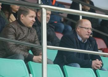 """Alytaus DFK """"Dainava"""" sporto direktorius R. Kantaravičius (dešinėje)"""