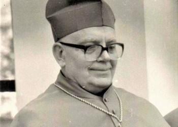 J. Žemaitis (1926-2021) buvo pirmasis Vilkaviškio vyskupas po Lietuvos Nepriklausomybės atgavimo. Nuotrauka iš Zanavykų muziejaus archyvo