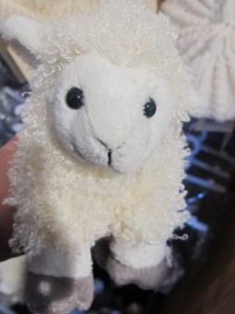 Adorable Sheep doll from the Edinburgh Castle Shop