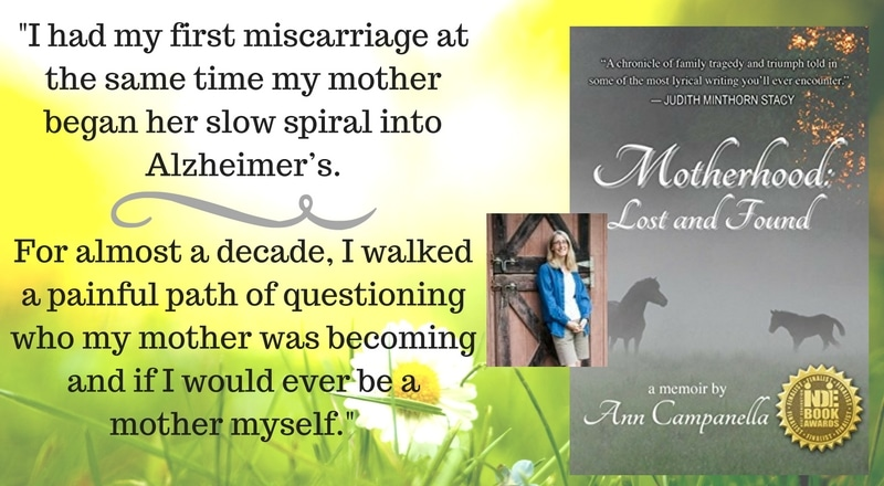 """Meet Ann Campanella, author of """"Motherhood: Lost and Found"""""""