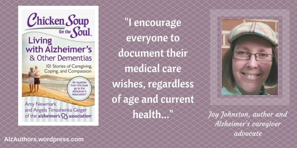 Meet author and Alzheimer's caregiver advocate, Joy Johnston