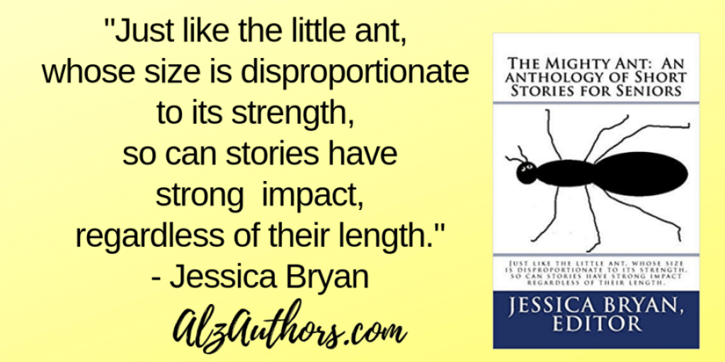 """Jessica Bryan Returns with """"The Mighty Ant – An Anthology of Short Stories for Seniors"""""""