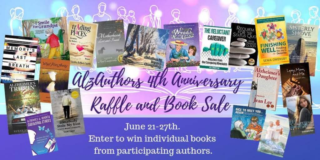 AlzAuthors 4th Anniversary Sale and Giveaway for Alzheimer's and Brain Awareness Month