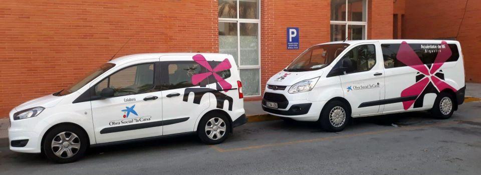 Vehiculo adaptados Asociación de Alzheimer de Bigastro