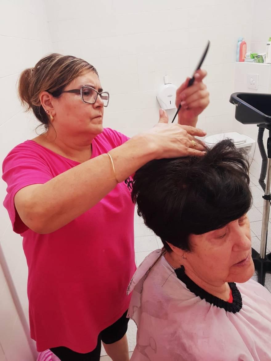 Servicio de Peluquería Alzheimer Bigastro