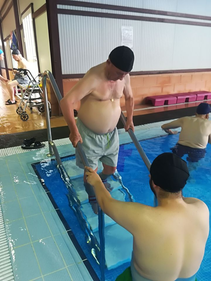 Gimnasia Terapéutica en la piscina 2018