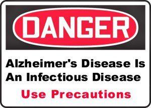 Alzheimer's disease infectious disease