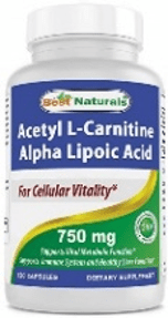Acetyl L-Carnitine (ALC) plus Alpha Lipoic Acid
