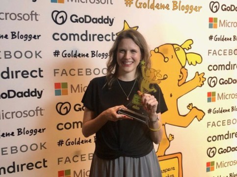 Peggy Elfmann Goldene Blogger