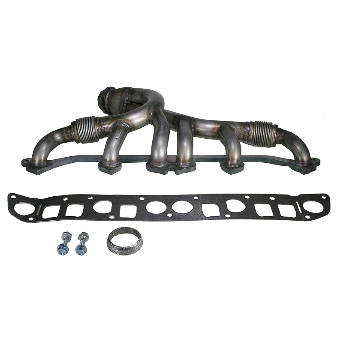Stainless Steel Exhaust Manifold Amp Gasket Kit For Grand