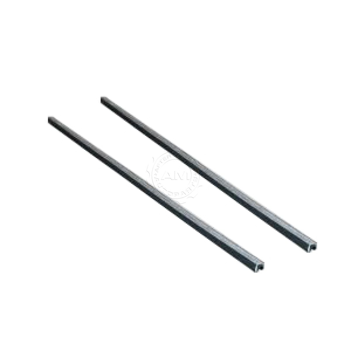 Front Window Glass Run Channel Seal Pair Set For 64 66