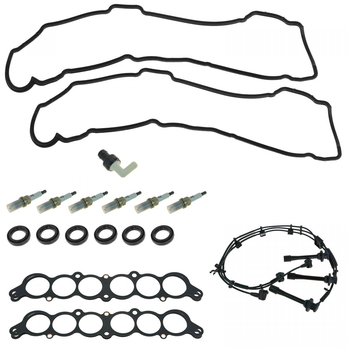 Oem Tune Up Kit Amp Gasket Set 18 Piece For Toyota Lexus V6